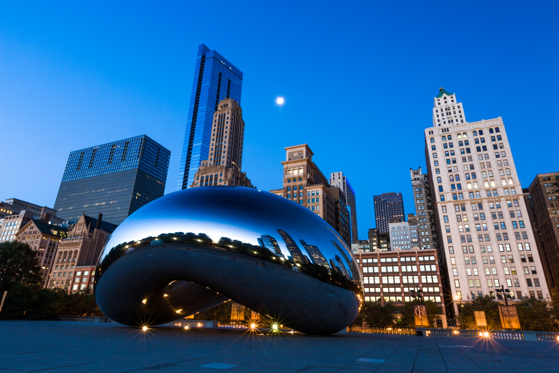 architecture art chicago chicago bean public domain image - FreeIMG