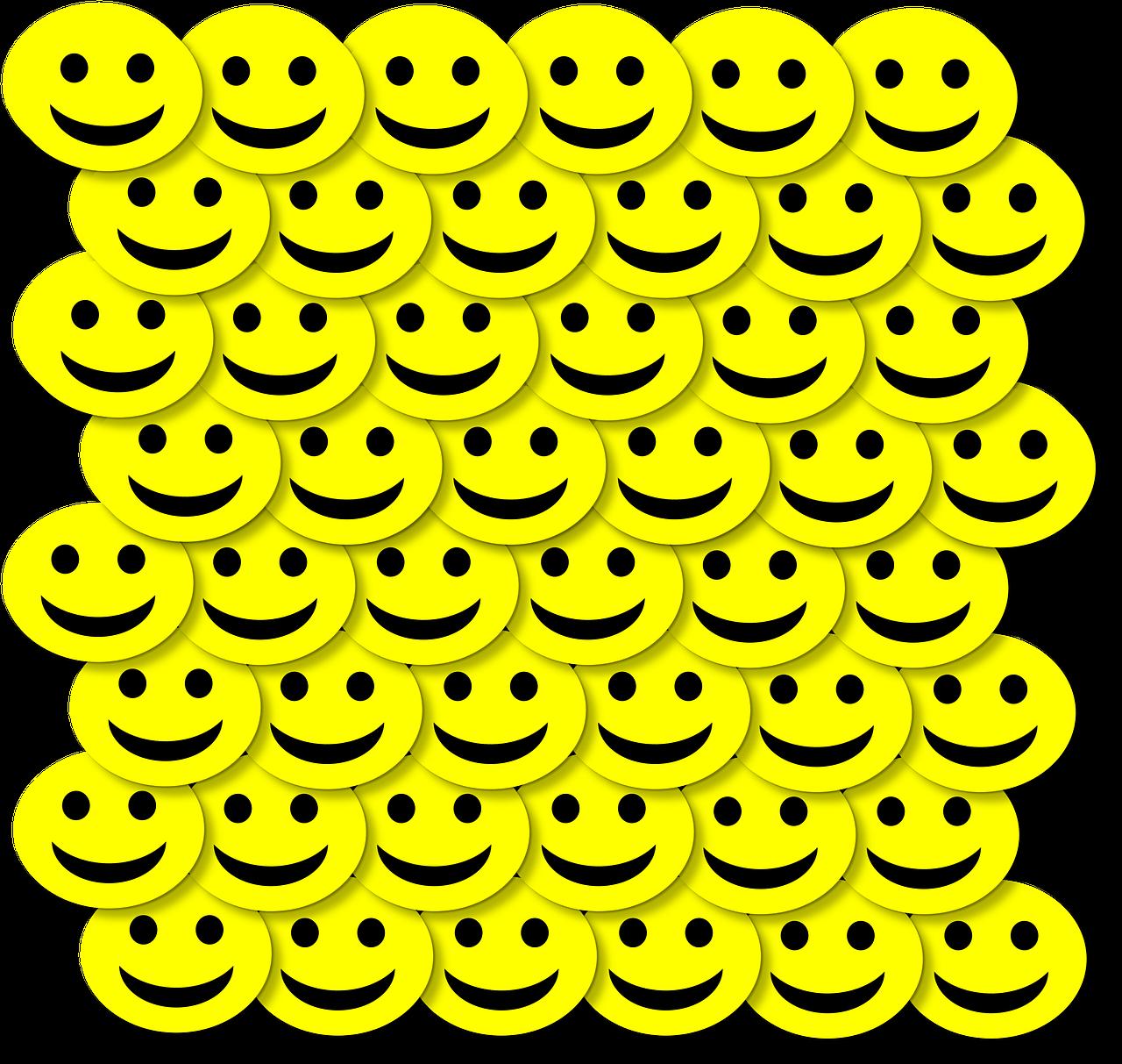 happy face 3d smile public domain image - FreeIMG