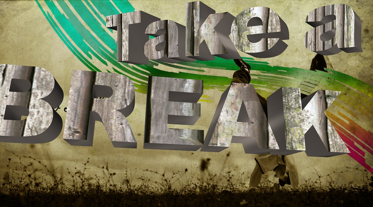 take a break,sentiment,modern,cover,poster,calligraphy,color